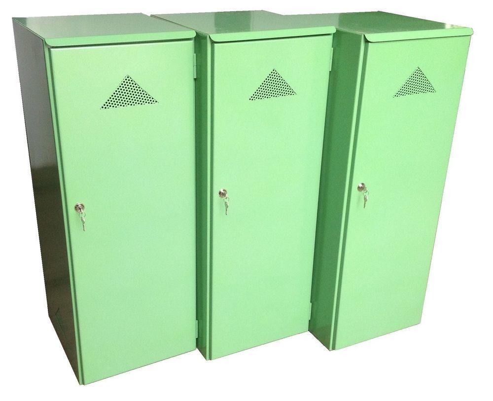 Железный шкаф для газового баллона