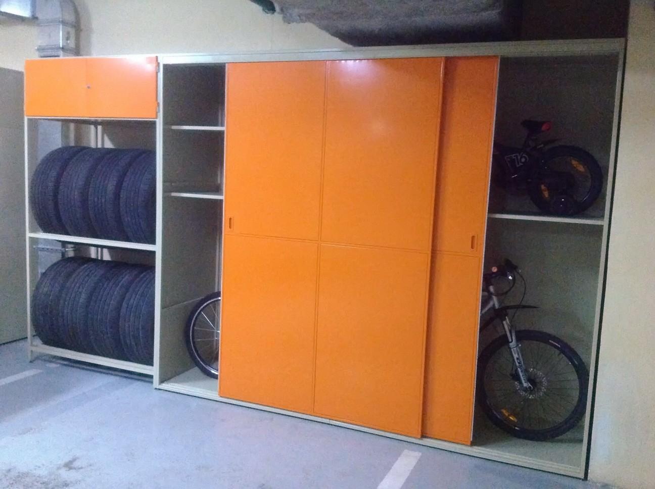 Металлические шкафы своими руками