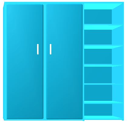 Шкаф для инвентаря